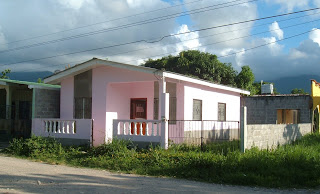 typical house, La Ceiba, Honduras