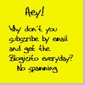 Subscribe to La Gringa's Blogicito by Email
