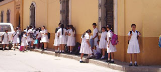 Honduran students
