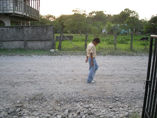 boy in El Porvenir, Honduras