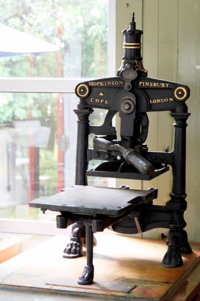 Table Top Albion Press 1872