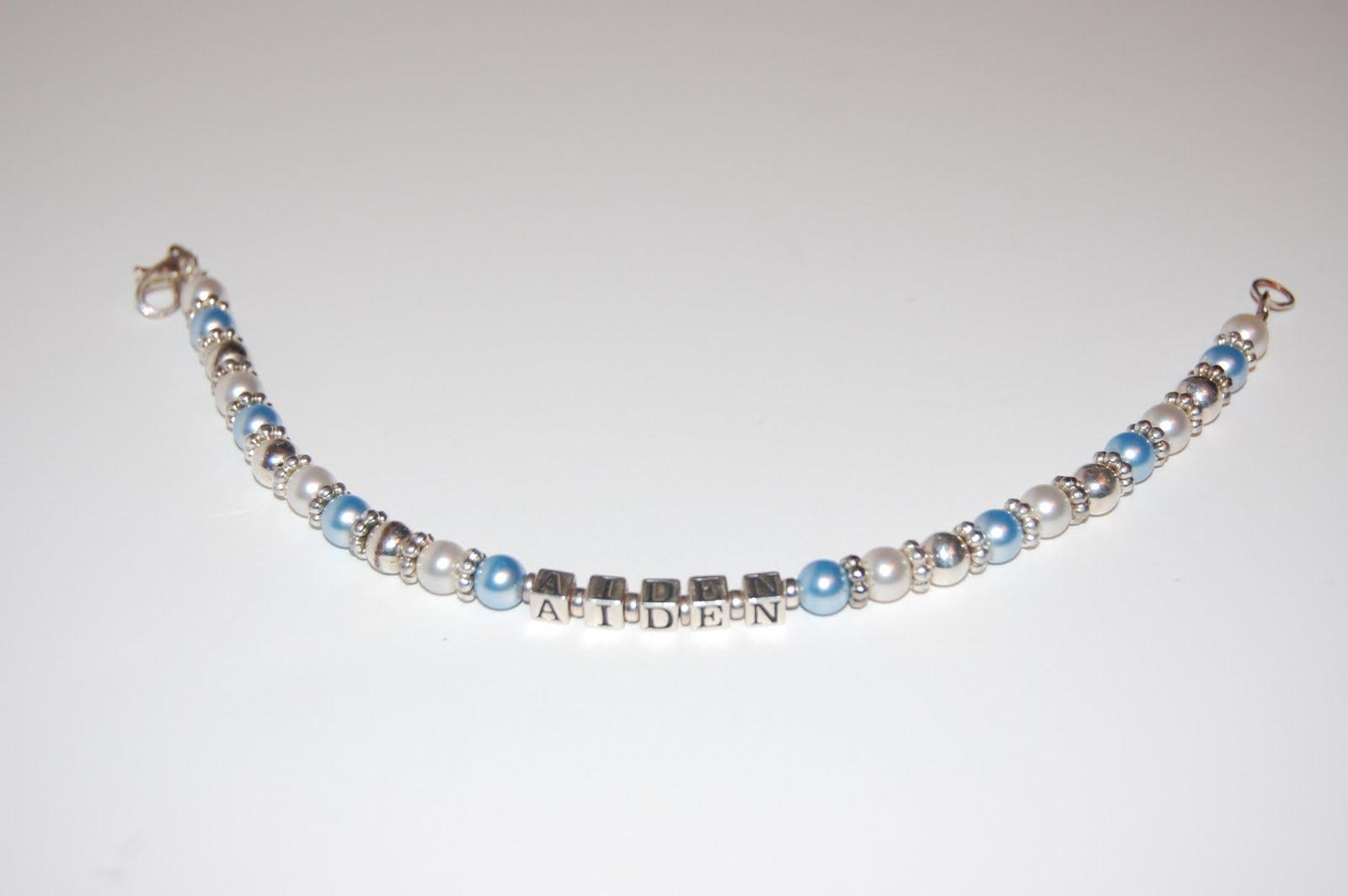 Deroma Designs Custom Baby Name Bracelets