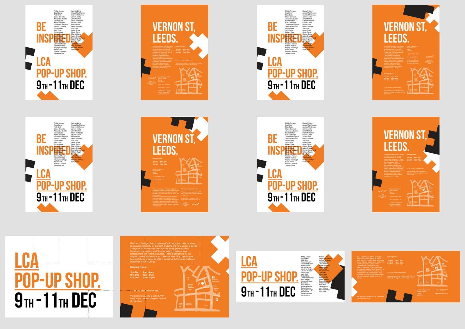 design practice flyer ideas
