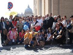 Il gruppo dell'Azione Cattolica di Conversano che ha partecipato al raduno nazionale del 4 maggio