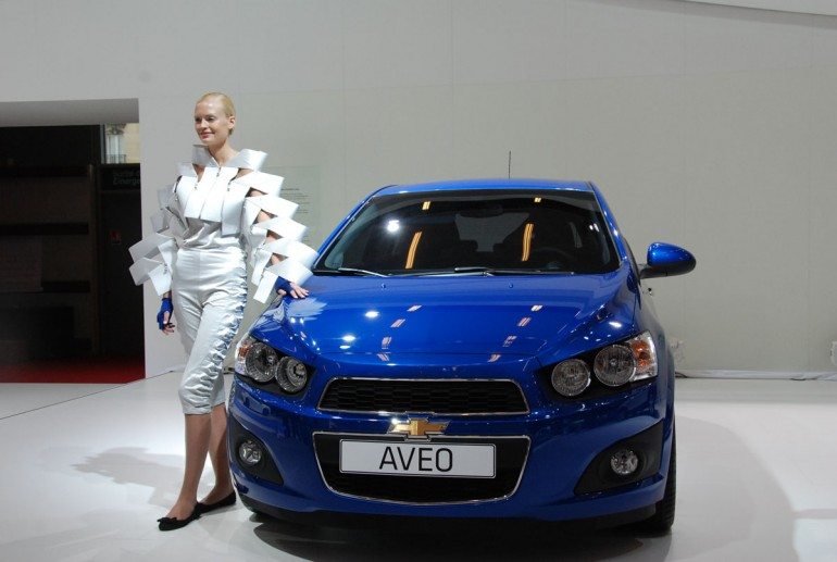 How To Pronounce Audi >> MOTORcontest: New Chevrolet Sonic at the 2010 Paris Auto Show