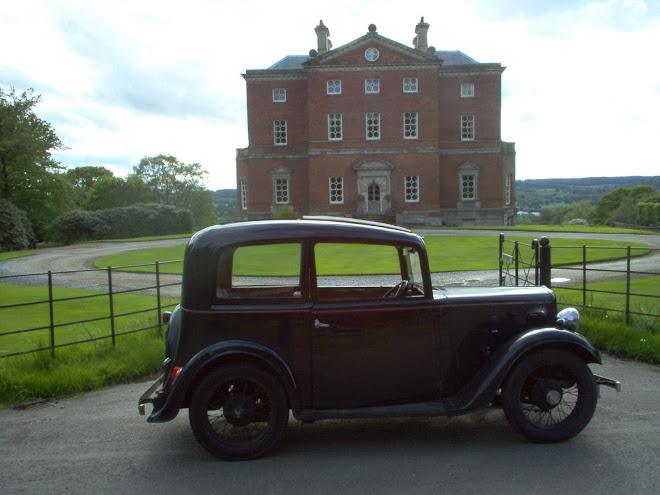 Austin Seven 1936- Comprei-o num barracão em Norfolk. Estava parado há doze anos.