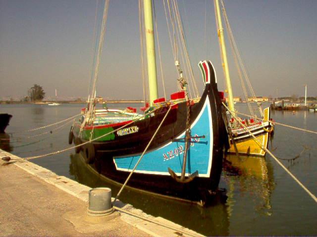 """Tagus river boat """" Falua"""""""