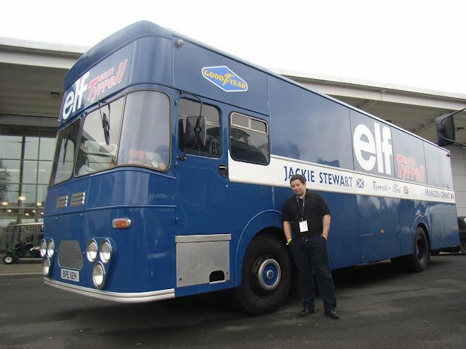 Jackie Stewart original transporter