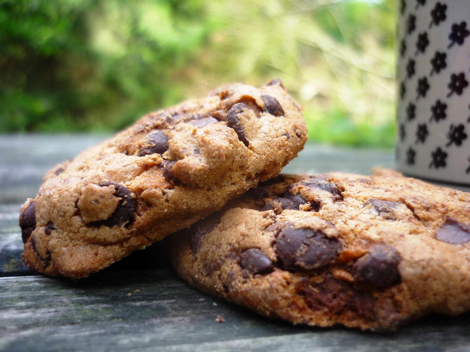 rezept schokoladen nuss cookies. Black Bedroom Furniture Sets. Home Design Ideas