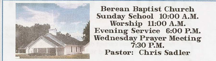 Berean Baptist Church of Ayden NC