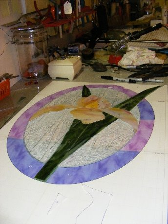 Oval Iris Pattern