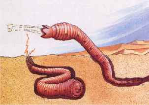Jeff, The Mongoliam Death Worm.