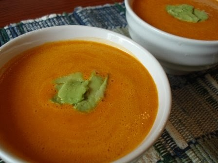 The Holistic Chef: Creamy Carrot Ginger Soup