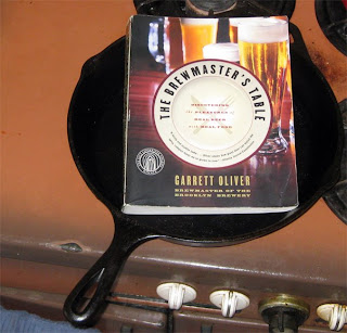 The Brewmaster's Table in a Cast Iron Skillet