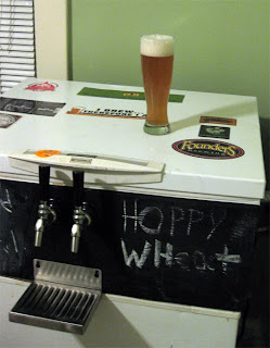 One of the only times haze is a good thing, a hoppy wheat beer.