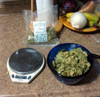 A big bowl of C hops.