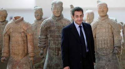 Sarkozy à Xian