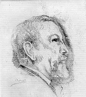 Charles maurras, crayon