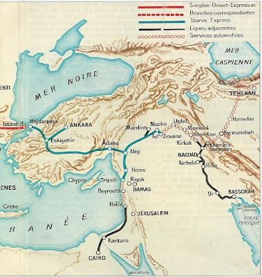 le Bagdadbahn en 1930