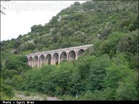 pont ferroviaire sur la ligne stratégique