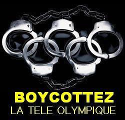 affiche boycott de la TV