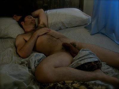 fondled man sleeping naked