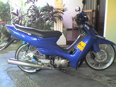 Modifikasi Suzuki Smash Revo 115cc Thailand 2010  Gambar