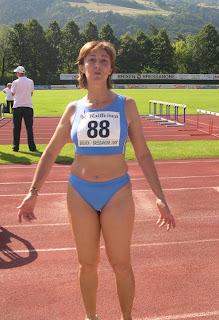 Chiara Passigato dopo l'eptathlon