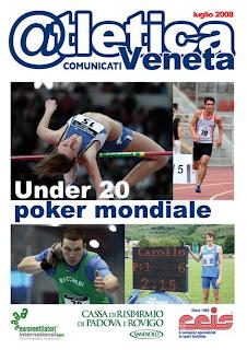 Atletica Comunicati Luglio 2008