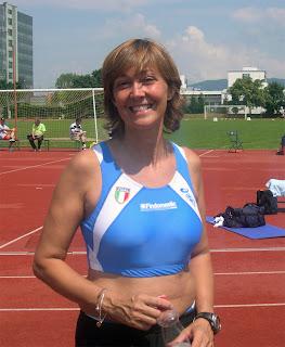 Chiara Maria Passigato dopo il salto in alto W45