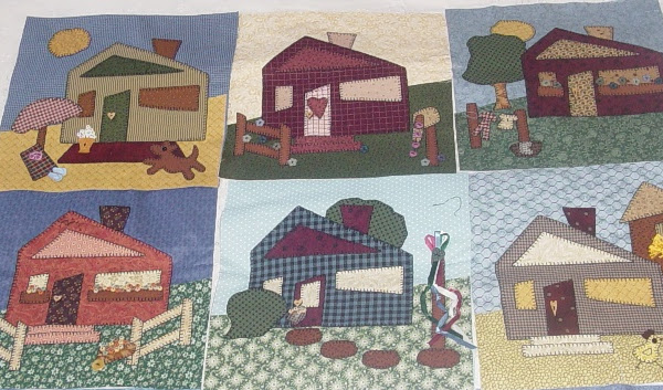 Strolling the Block Quilt......Part 1