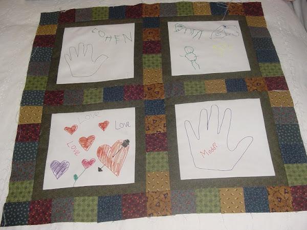 Kids Art Quilts-1
