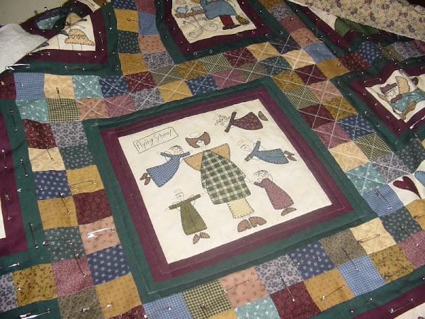 Basting and Quilting