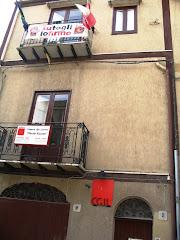 La sede della Cgil di Corleone