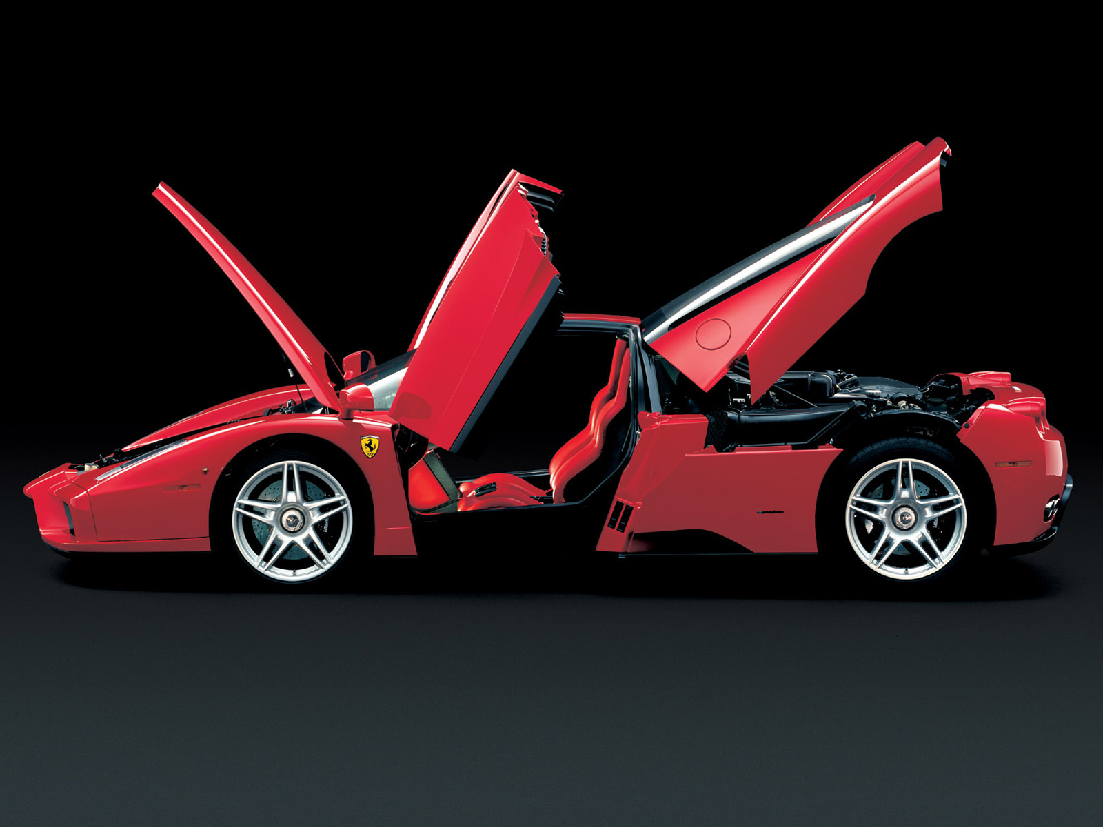 Ferrari Enzo Hood Doors Open 1600x1200 Hd Exotic Car Wallpapers