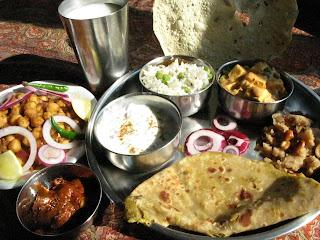 N e i v e d y a m punjabi thali for Amani classic punjabi indian cuisine