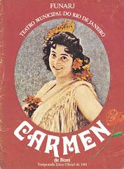 CARMEM DE BIZET - TEMPORADA LÍRICA OFICIAL 1981