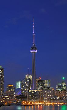 Wonders Of The World The Cn Tower Ontario Canada