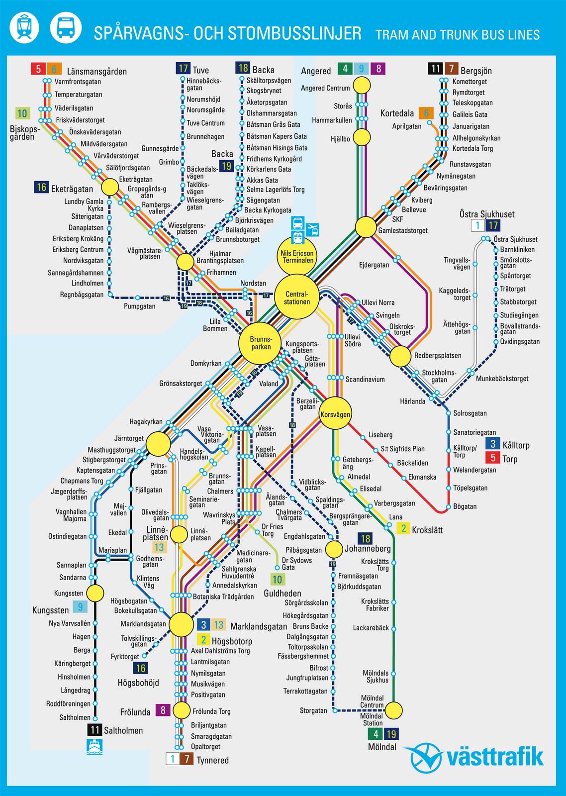 karta spårvagn göteborg Tomtenfabrikk: Ryggtavla karta spårvagn göteborg