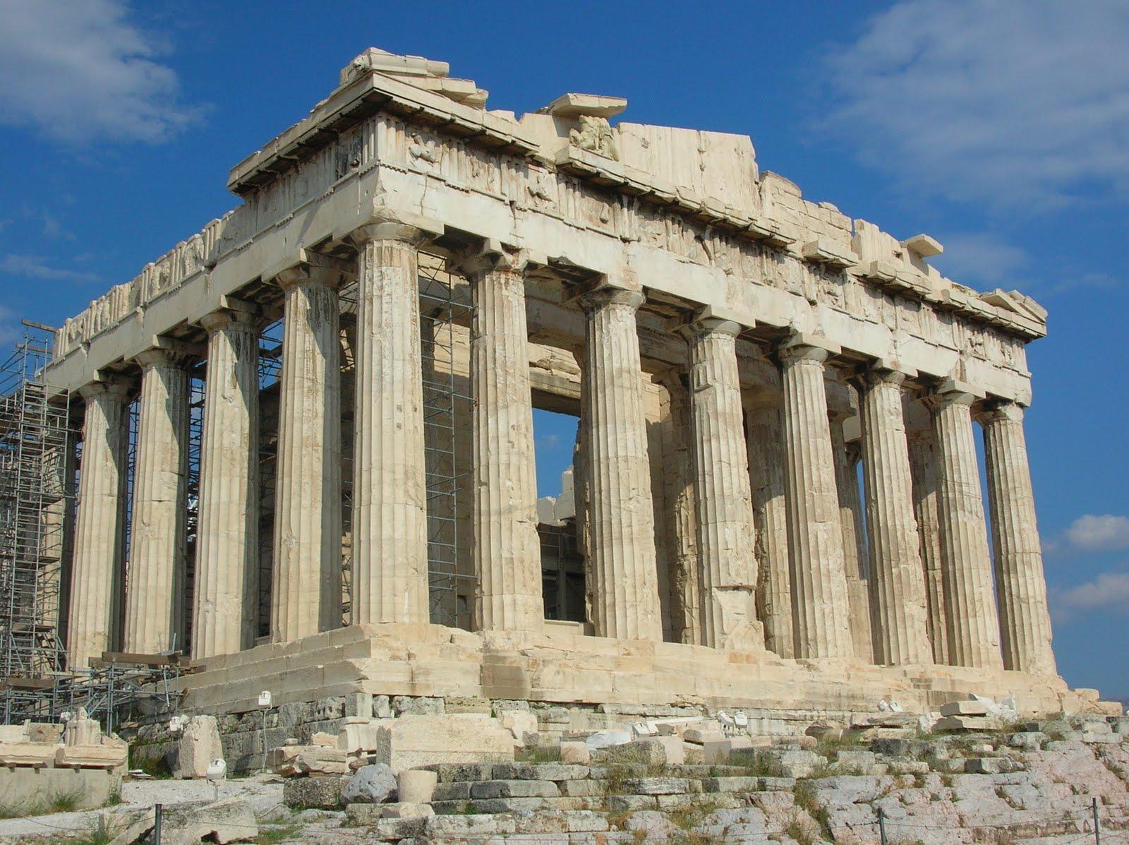 小禾子的獨白-部落格: 希臘 雅典衛城-帕德嫩神殿與阿提庫斯古劇場