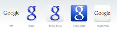 Google favicon set