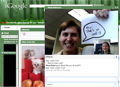 Video Chat iGoogle