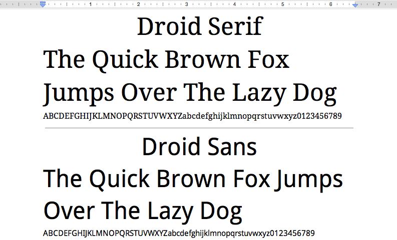 Official Google Blog: A more fontastic Google Docs