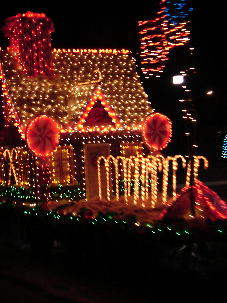 Each December Moab Has An Electric Light Parade People Come Up With Some Pretty Creative Floats Others Put A Few Lights On Their Business Truck And Call