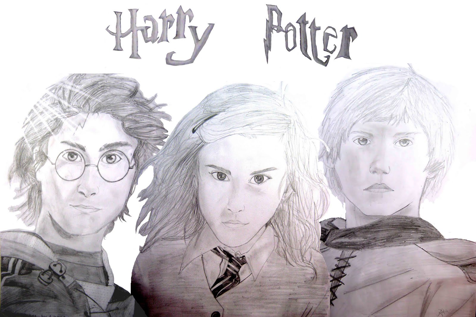 Dessin Mania Harry Potter