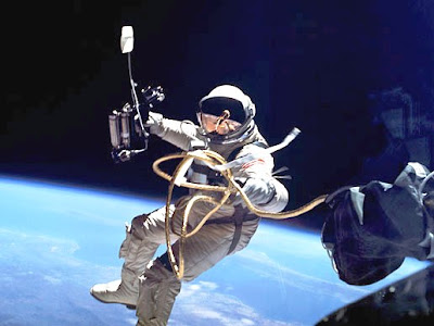 Space walk pictures in History