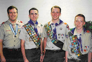 Kevin and Eagle Scout Sons