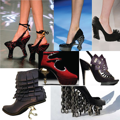 fresh fashion most outrageous shoes seen on the runway