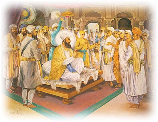 Image result for guru tegh bahadur Meeting with the Kashmiri Pandits