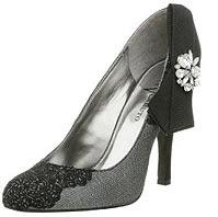 Rhinestone Ankle Strap Wedding Shoes